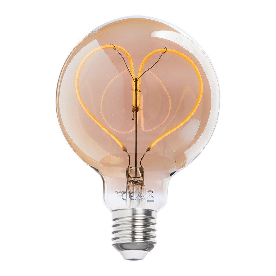 lampadina E27 LED HEART