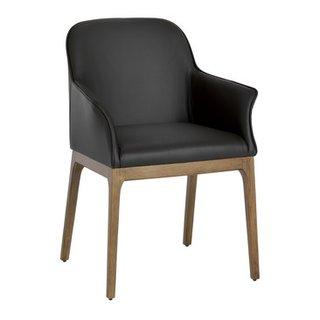 chaise à accoudoirs NAIMA