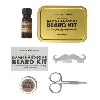 kit pour soins barbe GENTLEMAN'S