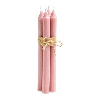 bougies droites RUSTIC