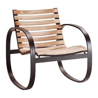 fauteuil à bascule de jardin PARC
