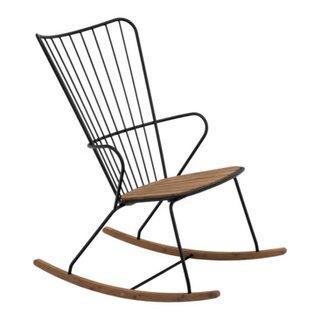 fauteuil à bascule de jardin PAON