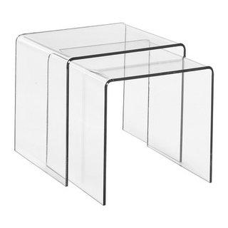 Set di tavolini 2 pezzi PLEXI