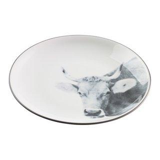 assiette à fondue ALPES