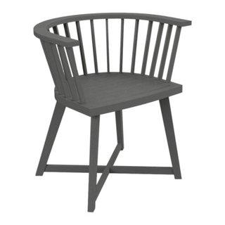 chaise à accoudoirs GRAY