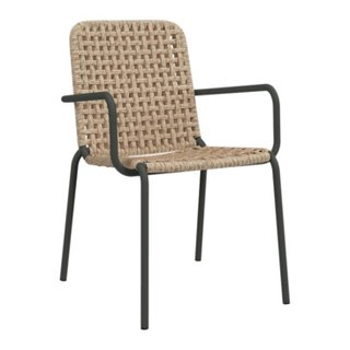 chaise à accoudoirs STRAW