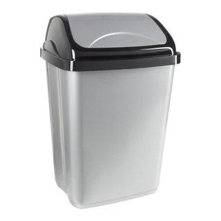 poubelle avec couvercle basculant SWING