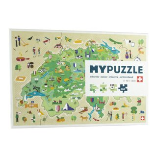 Puzzle HELVETIA