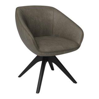 sedia con braccioli ELEMENTS BLACK