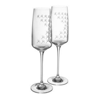 set di 2 bicchieri da spumante DINING GLAMOUR