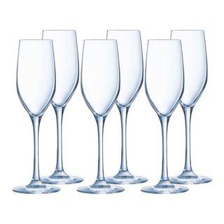 lot de 2 flûtes à champagne SEQUENCE
