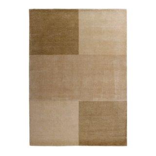 tapis tufté/tissé IndianGabbeh beige