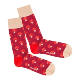 chaussettes TOXIC FIRE SHROOMS