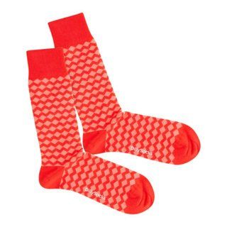 chaussettes CORAL ZIG ZAG