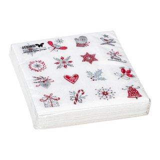 serviettes en papier XMAS PAPER