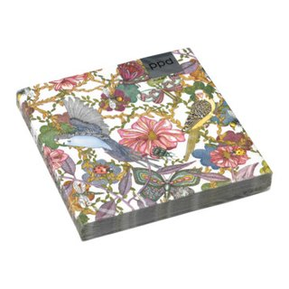Papierserviette BIRDS AND FLOWERS