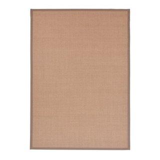 tappeto con bordatura Natur