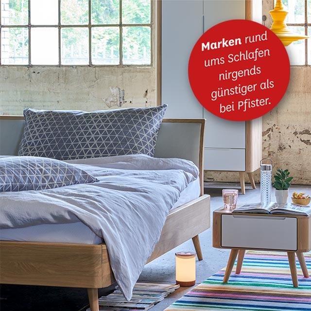 Schlafzimmer-Marken mit Preisgarantie · Pfister