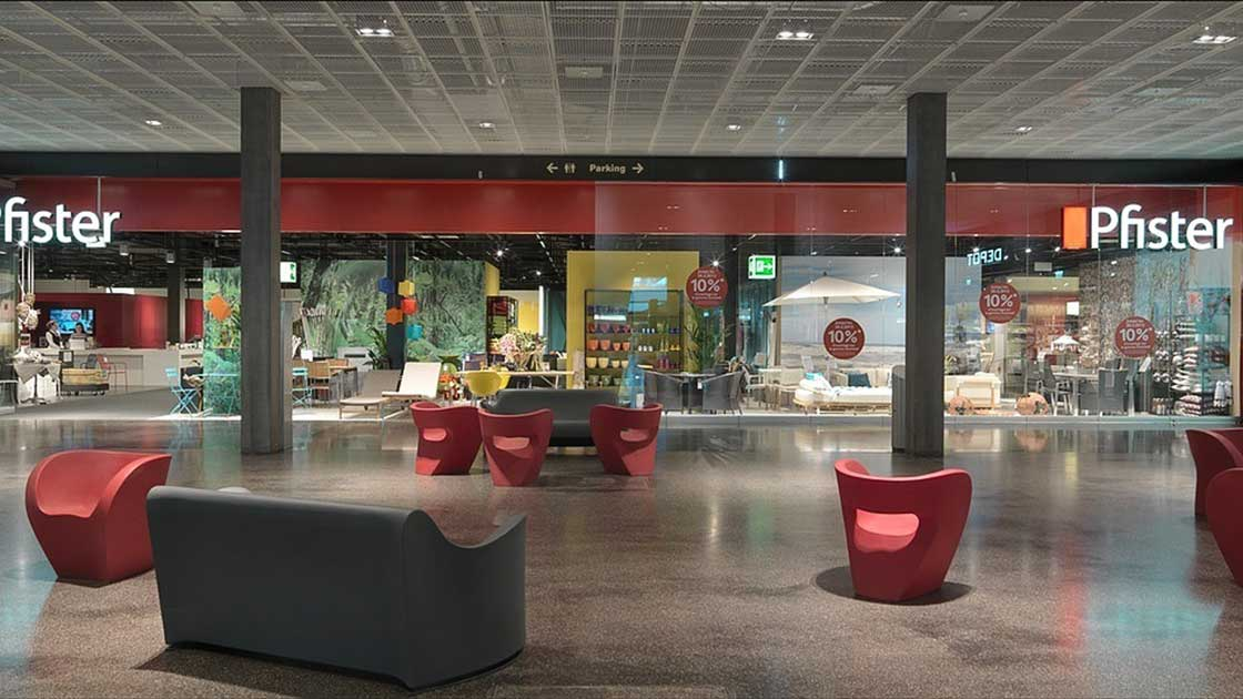 Filiale Marin Center: votre magasin de meubles à Marin · Pfister